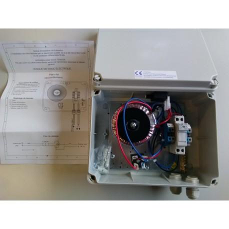 Coffret électrique alimentation filaire